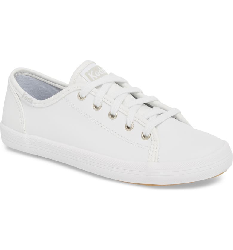 KEDS<SUP>®</SUP> Kickstart Sneaker, Main, color, WHITE/ WHITE