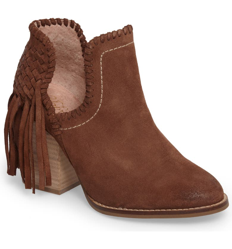 ARIAT Unbridled Lily Bootie, Main, color, WHISKEY SUEDE