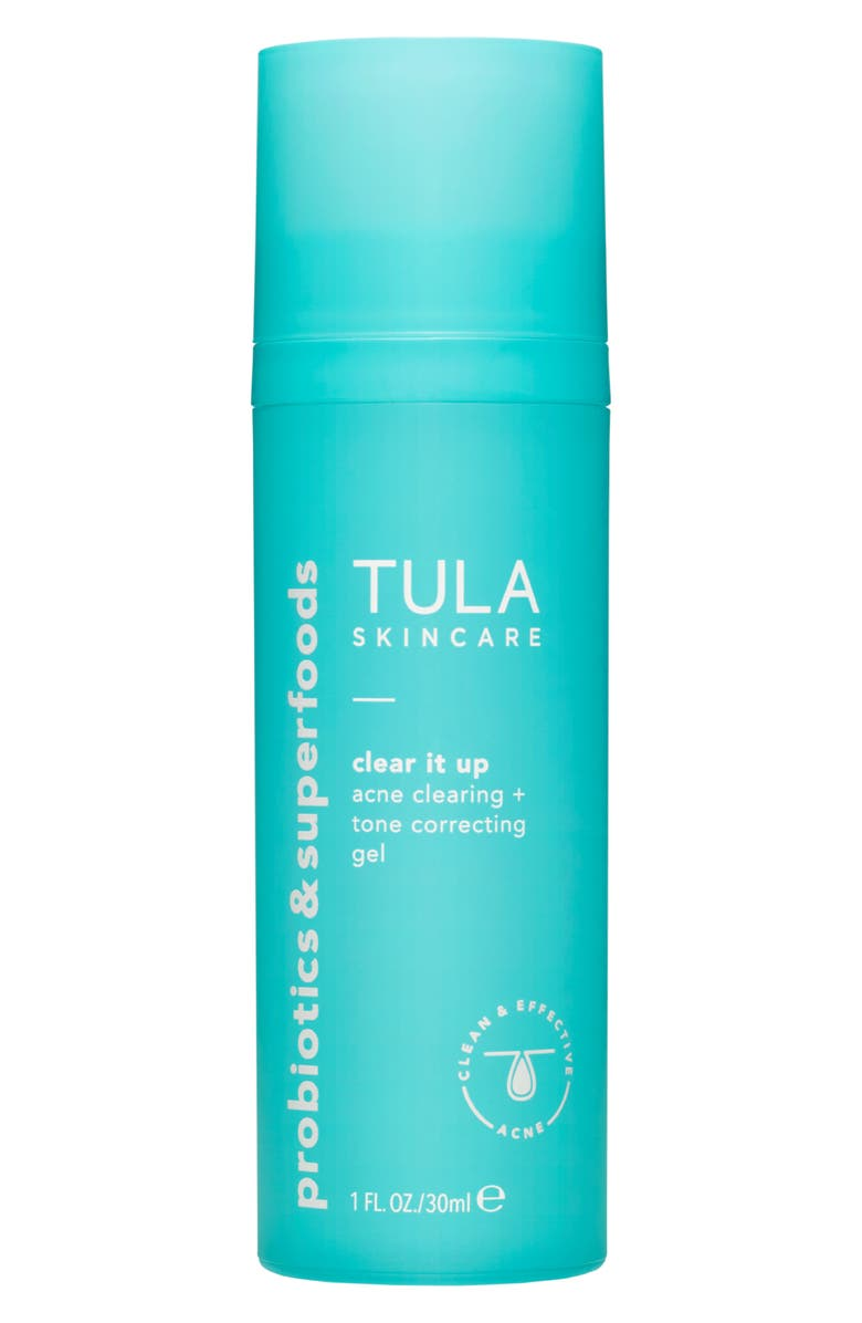 TULA SKINCARE Acne Clear It Up Acne Clearing + Correcting Gel, Main, color, NO COLOR