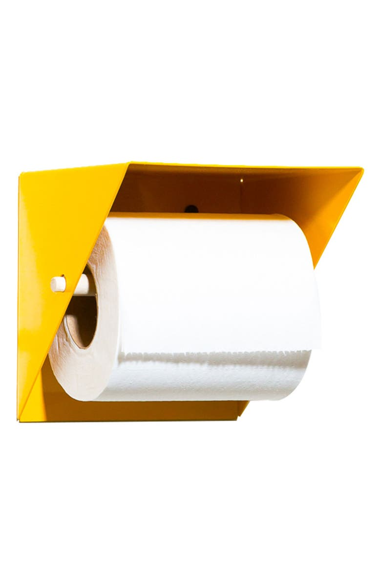 NEWMADE LA Toilet Paper Holder, Main, color, YELLOW