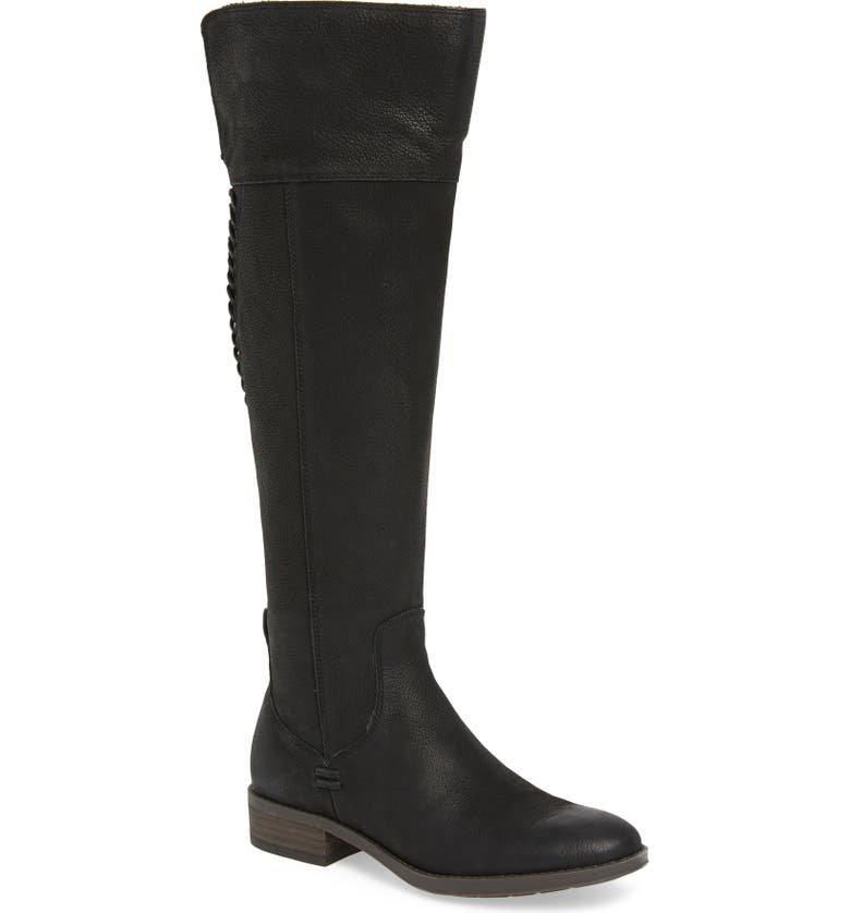 VINCE CAMUTO Patamina Boot, Main, color, BLACK LEATHER