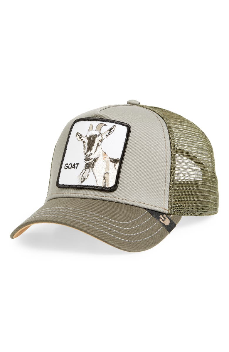 GOORIN BROS. Goat Beard Trucker Hat, Main, color, 314