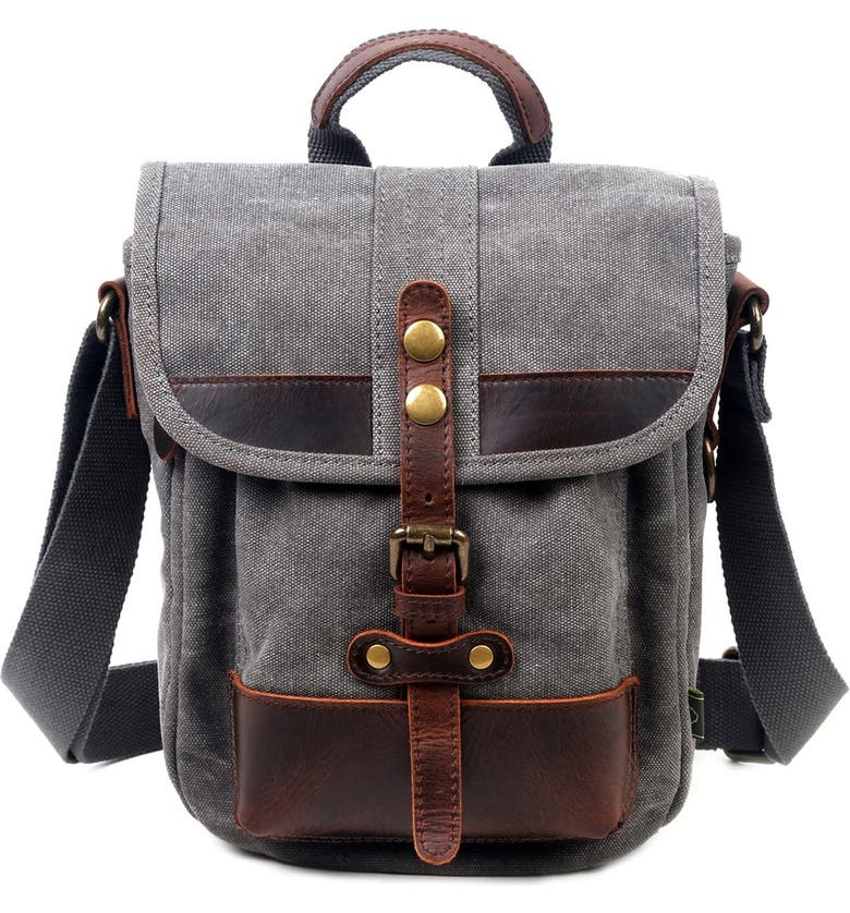 THE SAME DIRECTION Valley Trail Crossbody Bag, Main, color, GREY