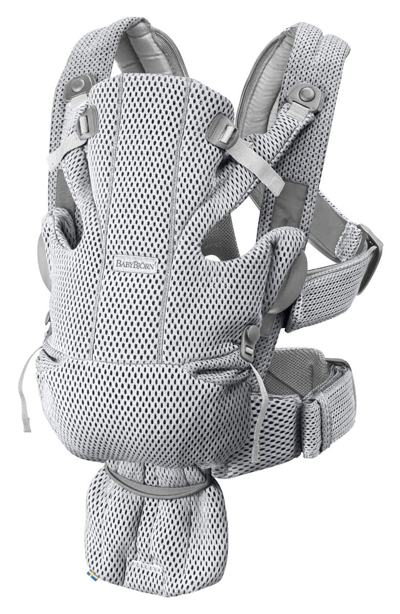 BABYBJÖRN Baby Carrier Free, Main, color, GREY