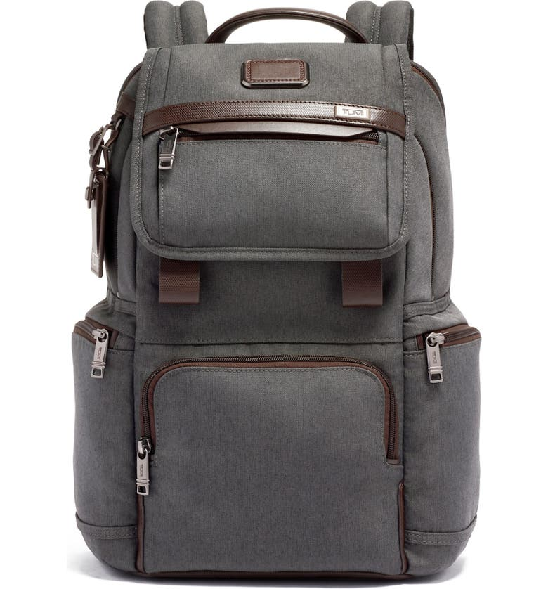 TUMI Alpha 3 Flap Backpack, Main, color, ANTHRACITE