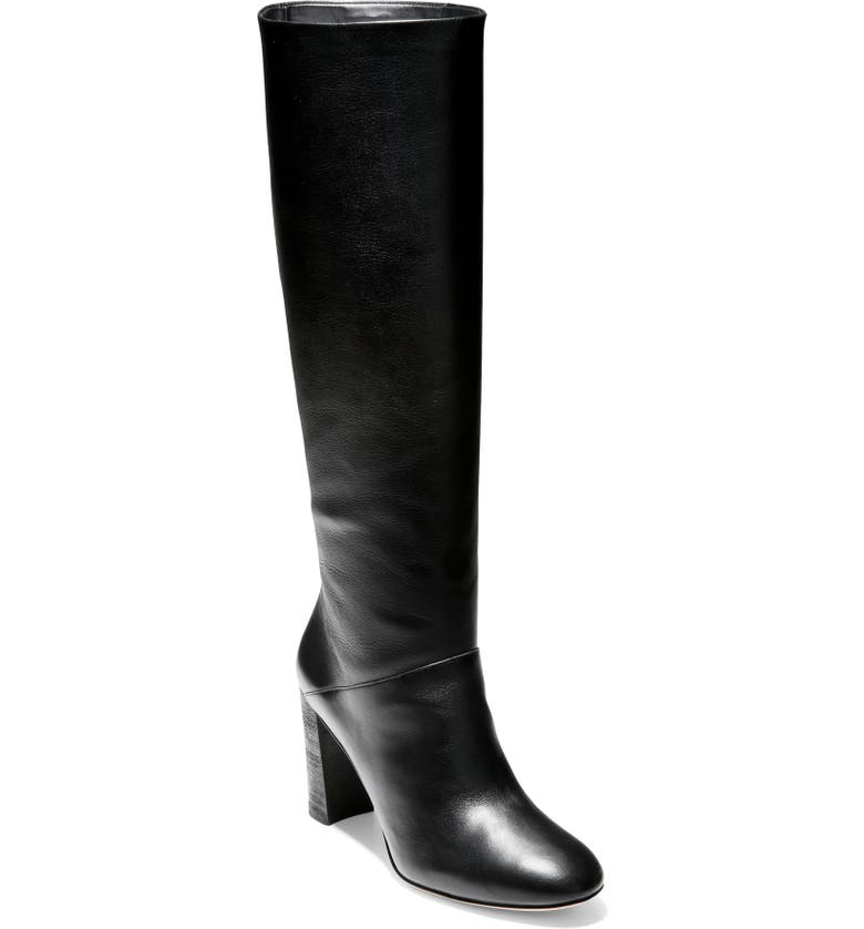 COLE HAAN Perfect Pairs Glenda Knee High Boot, Main, color, 001