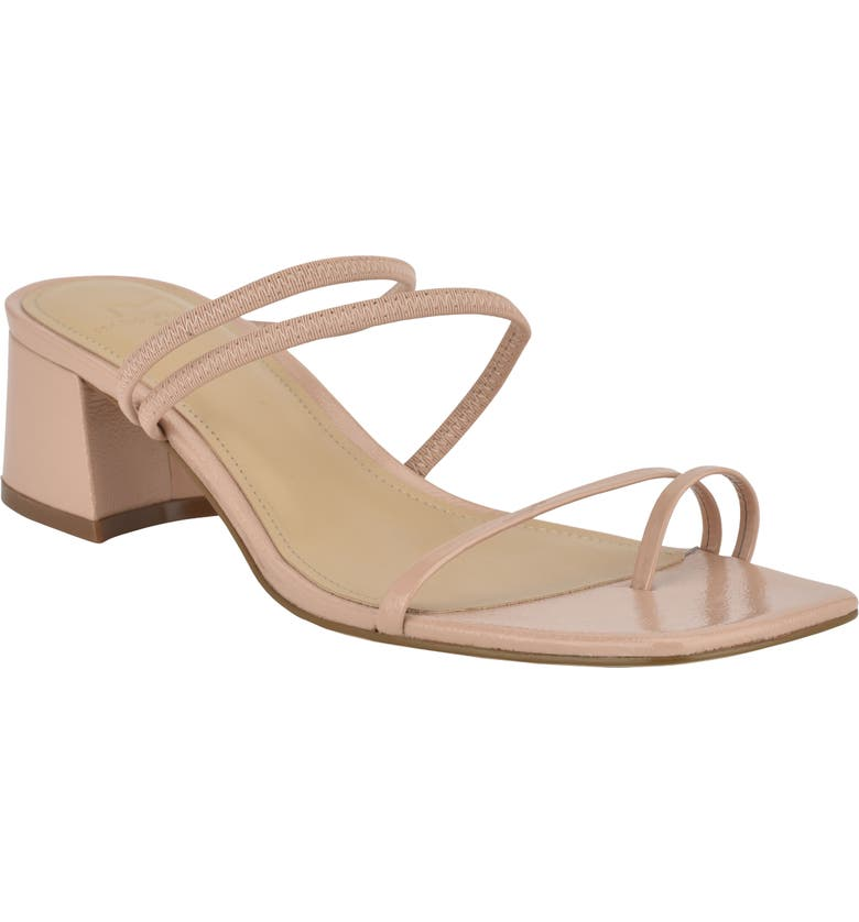 MARC FISHER LTD Jadine Sandal, Main, color, NUDE