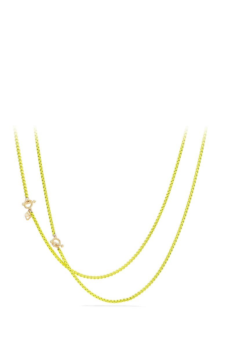 DAVID YURMAN DY Bel Aire Chain Necklace with 14K Gold Accents, Main, color, Yellow