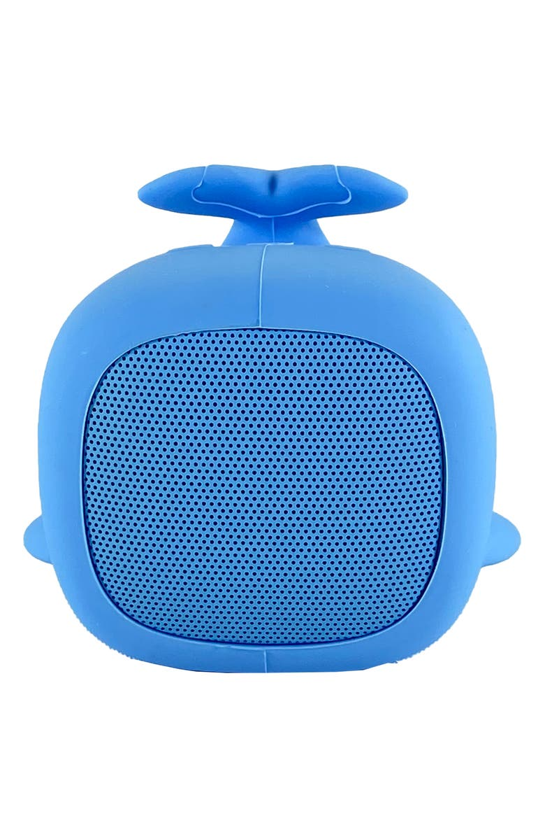 QUSHINI Whale Portable Bluetooth<sup>®</sup> Speaker, Main, color, Blue