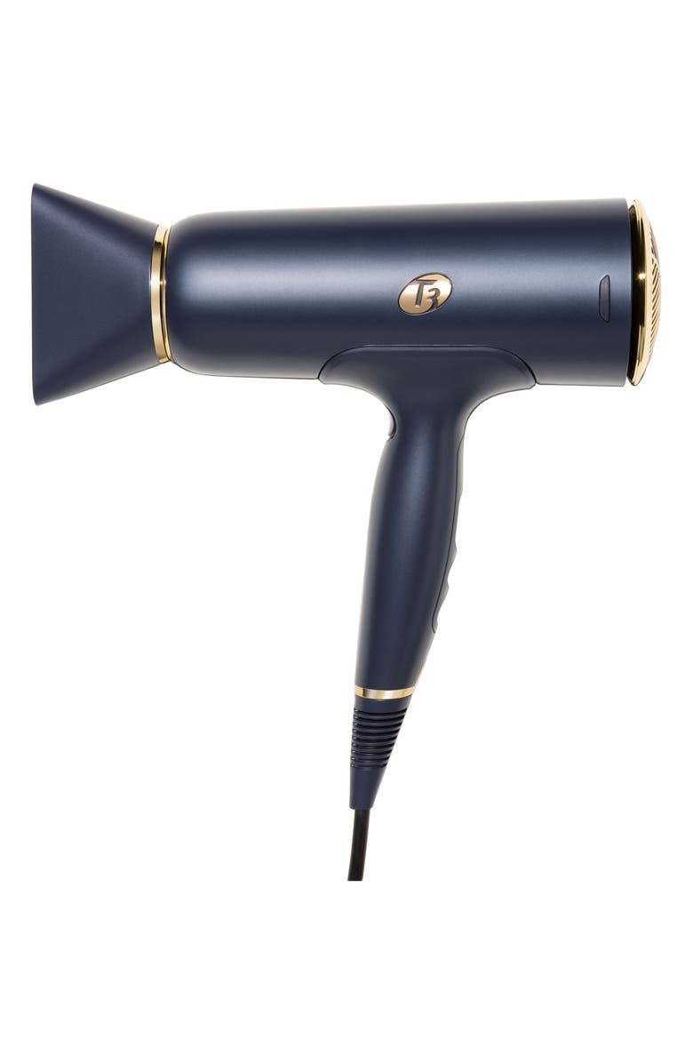 T3 Midnight Blue Cura Professional Digital Ionic Hair Dryer, Main, color, 000