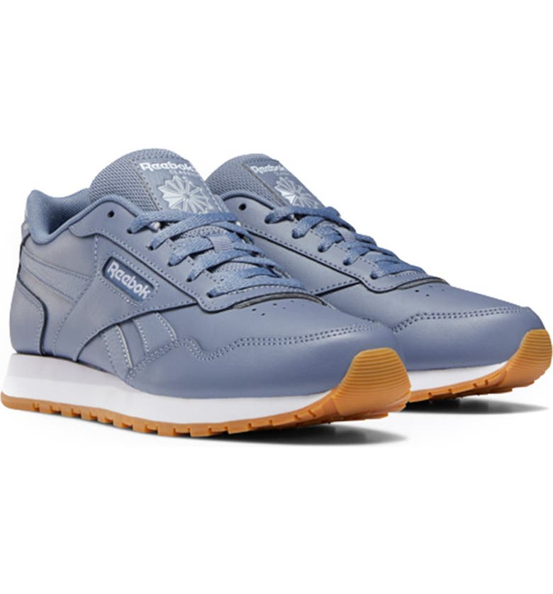 REEBOK Classic Harman Running Sneaker, Main, color, /US-WASHED IND/LILA/WHT/GU