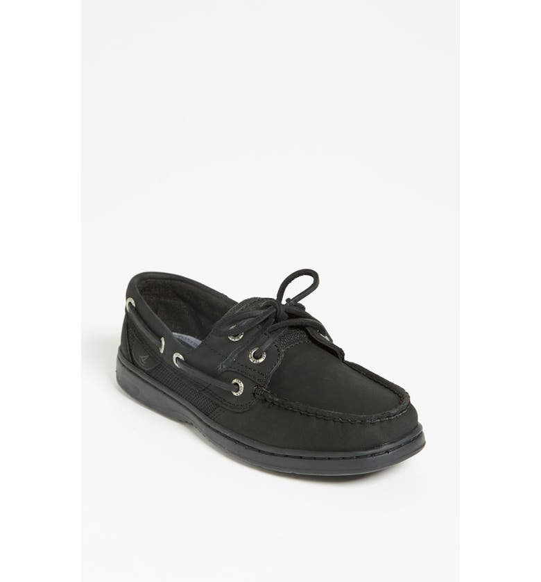 SPERRY Top-Sider<sup>®</sup> 'Bluefish 2-Eye' Boat Shoe, Main, color, 001