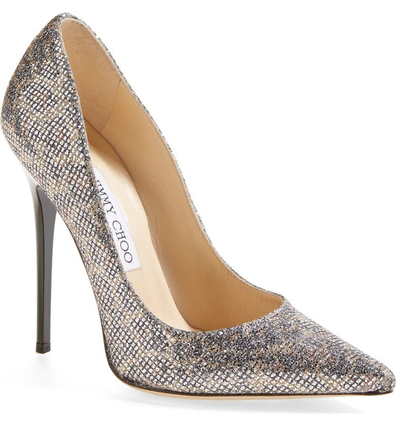 JIMMY CHOO 'Anouk' Pointy Toe Pump, Main, color, CHAMPAGNE