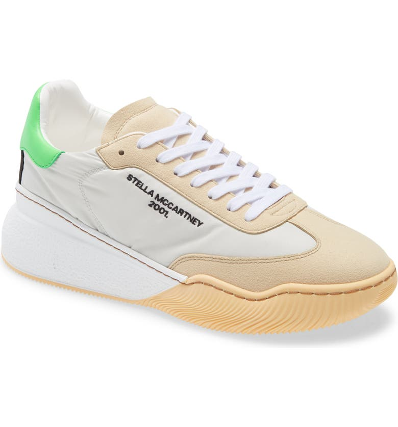 STELLA MCCARTNEY Loop Runner Sneaker, Main, color, BUTTER/ MULTI