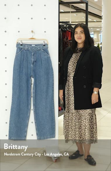 '80s Acid Wash HIgh Waist Mom Jeans, sales video thumbnail