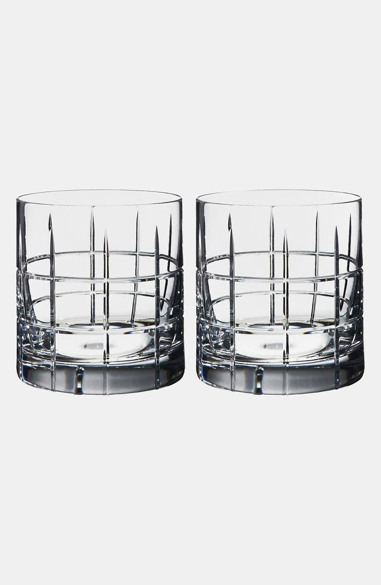 ORREFORS 'Street' Double Old Fashioned Tumblers, Main, color, NO COLOR