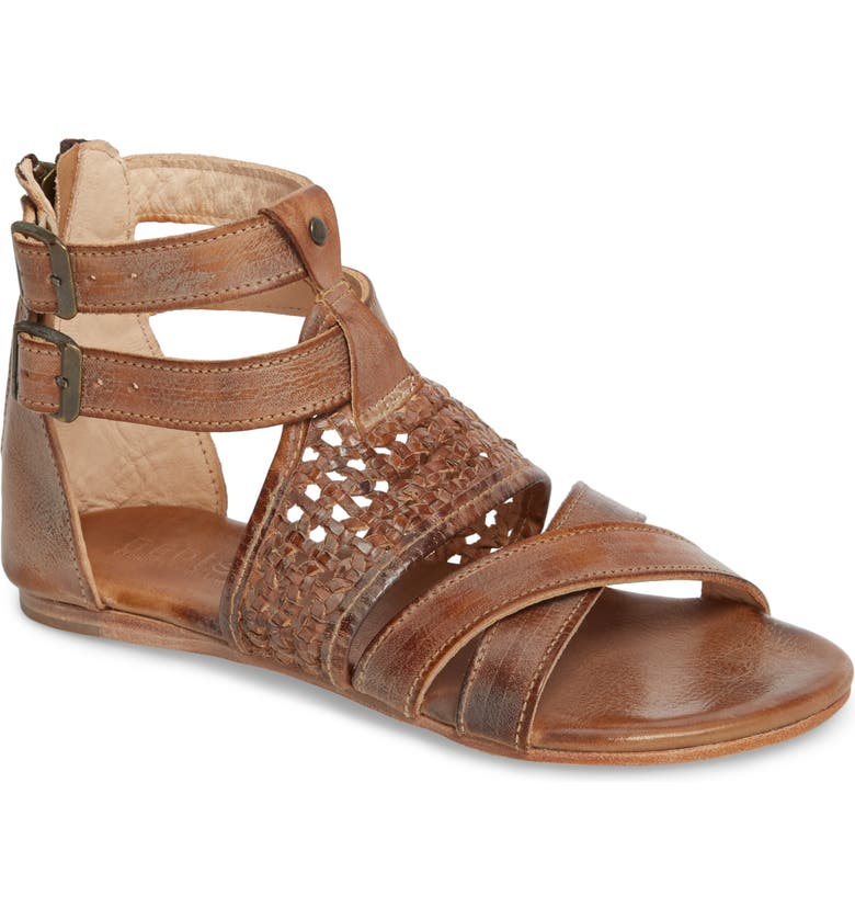 BED STU Capriana Sandal, Main, color, TAN MASON LEATHER
