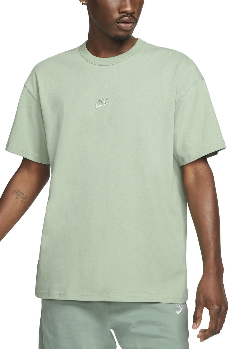 NIKE Sportswear Oversize Embroidered Logo T-Shirt, Main, color, STEAM