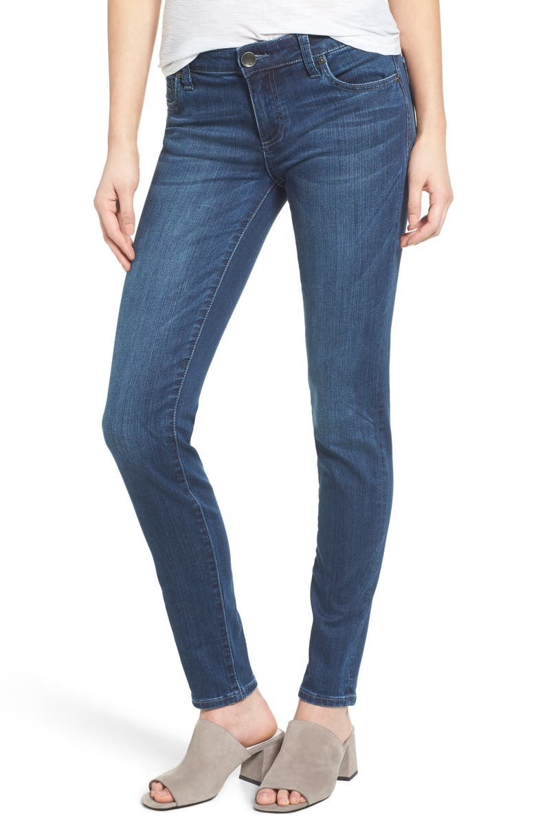 KUT FROM THE KLOTH Diana Stretch Skinny Jeans, Main, color, 450