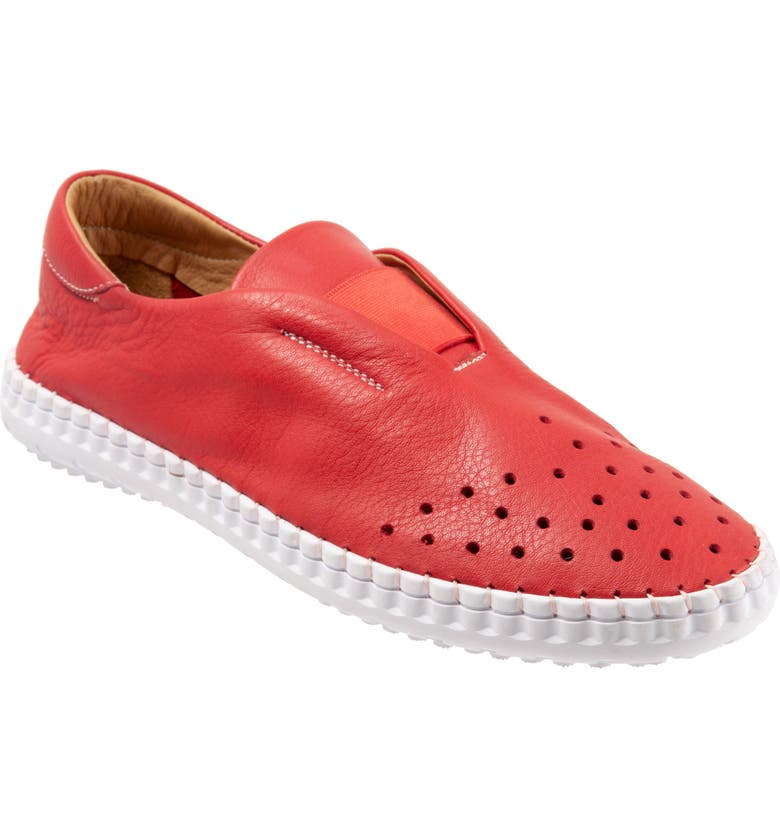 BUENO Denmark Flat, Main, color, RED LEATHER