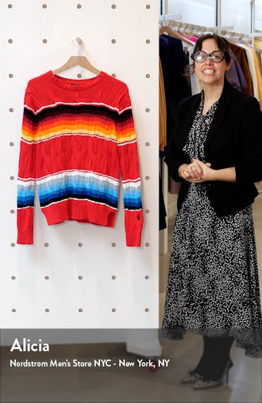 Exploded Cable Knit Sweater, sales video thumbnail