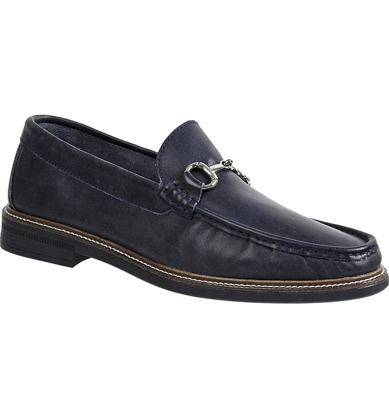 SANDRO MOSCOLONI Lucio Bit Loafer, Main, color, NAVY