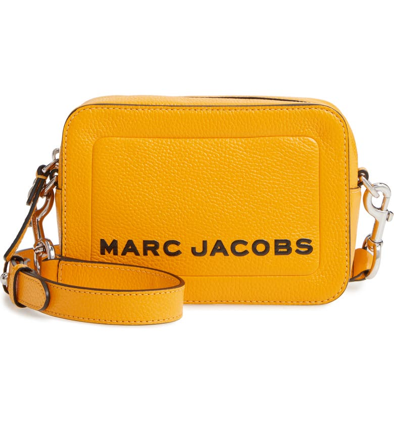 THE MARC JACOBS MARC JACOBS The Box Leather Crossbody Bag, Main, color, 700
