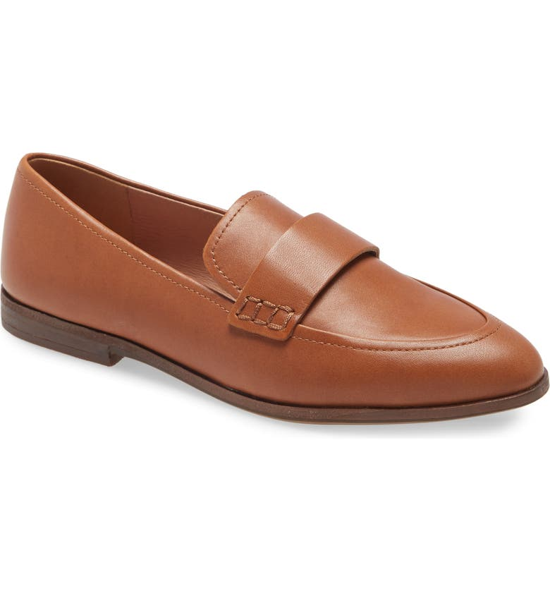 MADEWELL The Alex Loafer, Main, color, ENGLISH SADDLE