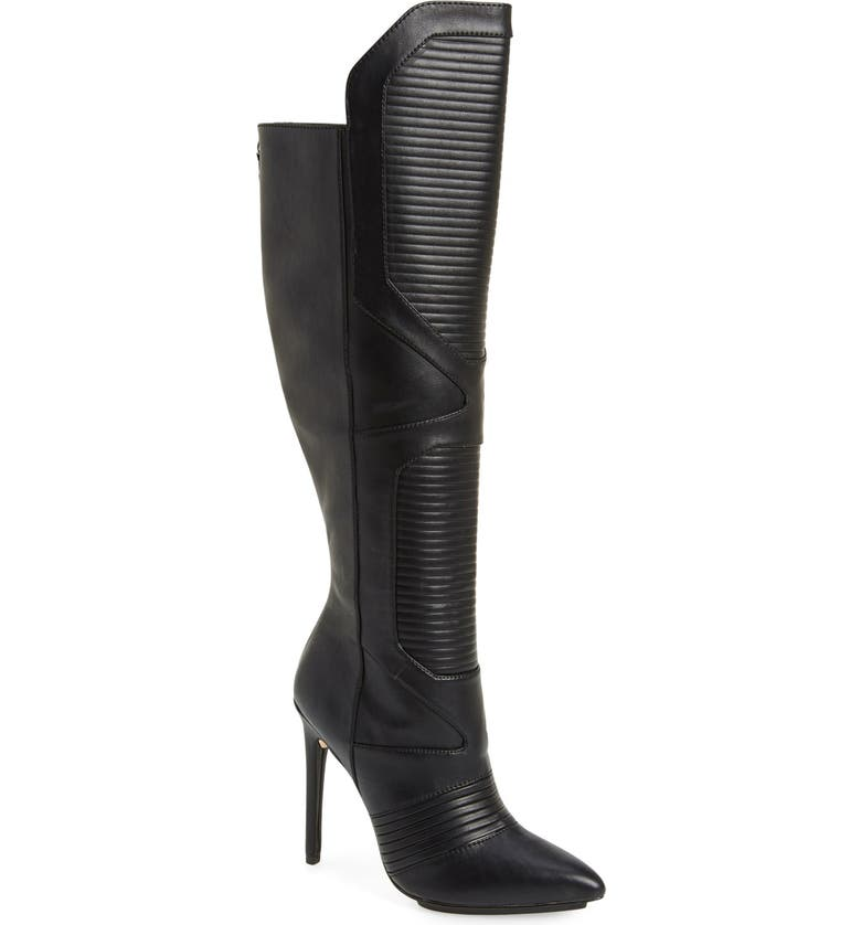 GX BY GWEN STEFANI 'Cartel' Over the Knee Boot, Main, color, 001