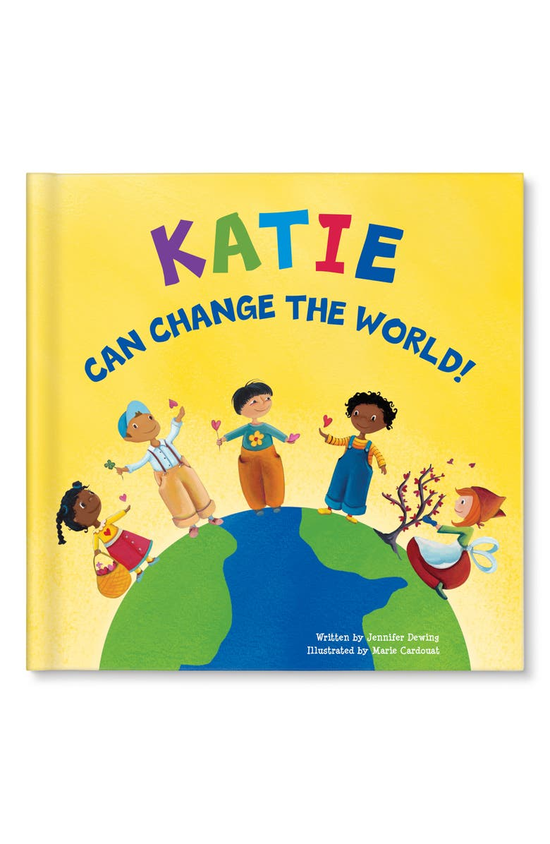 I SEE ME! 'I Can Change the World!' Personalized Book, Main, color, BOY