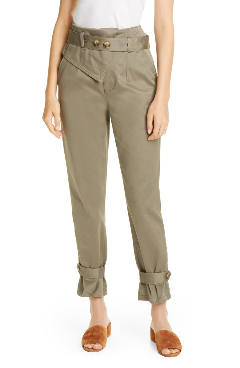 TRAVE Kennedy Belted Tapered Pants, Main, color, 300