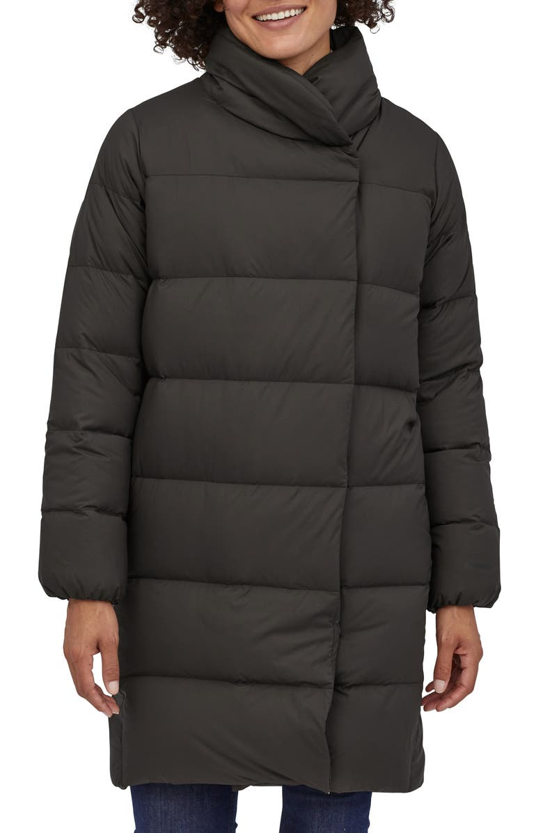 PATAGONIA Arctic Willow 700 Fill Power Down Parka, Main, color, BLK BLACK