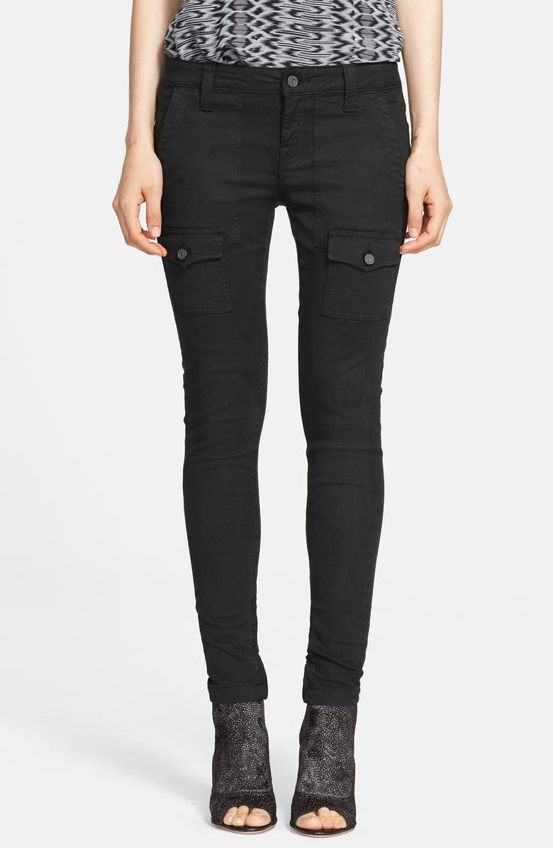 JOIE 'So Real' Cargo Stretch Skinny Jeans, Main, color, 001
