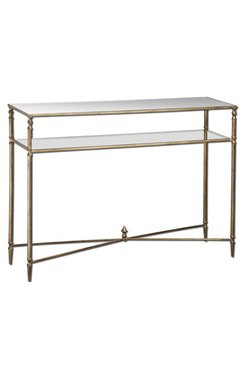 UTTERMOST 'Henzler' Mirrored Console Table, Main, color, 710