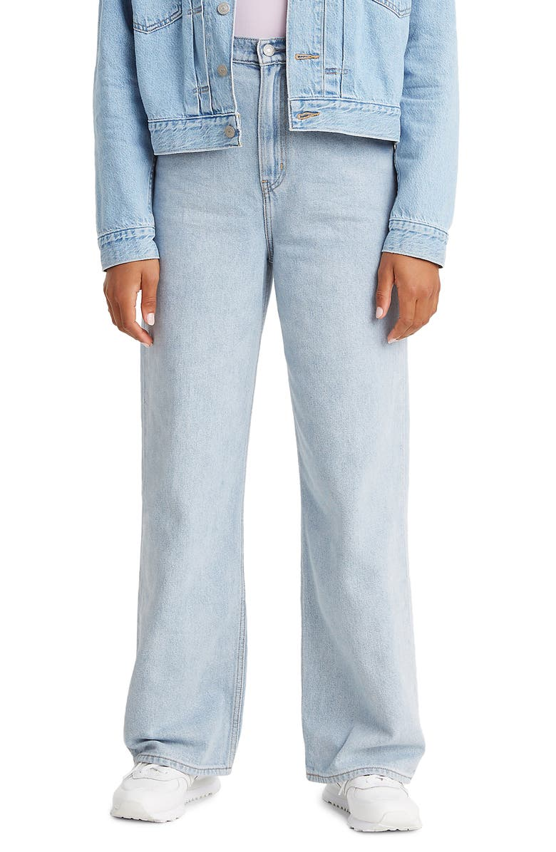 LEVI'S<SUP>®</SUP> High Loose High Waist Wide Leg Jeans, Main, color, LOOSEY GOOSEY
