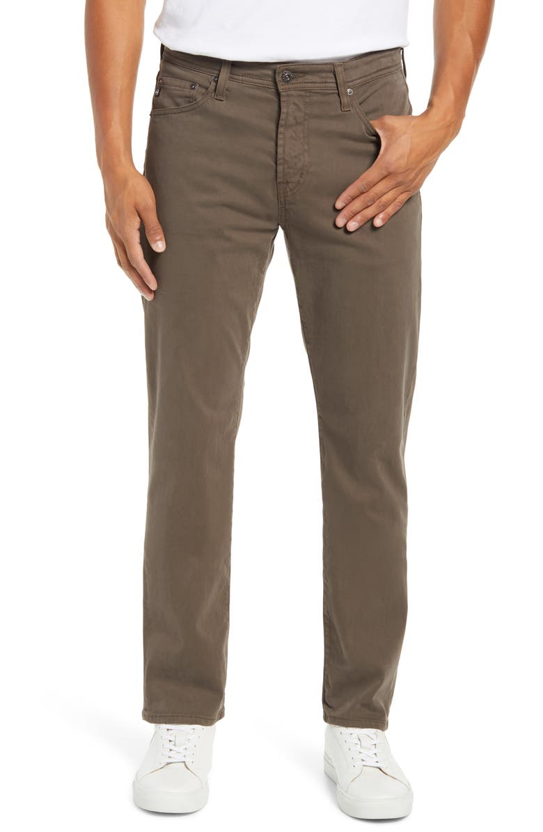 AG Everett SUD Slim Straight Fit Pants, Main, color, PORTOBELLO ROAD