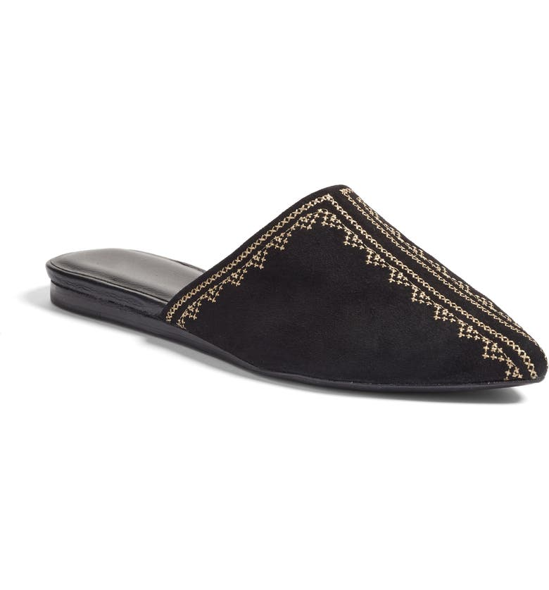 JOIE Adia Backless Loafer, Main, color, 001