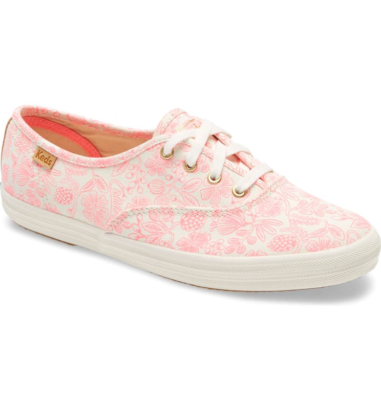 KEDS<SUP>®</SUP> x Rifle Paper Co. Champion Moxie Low Top Sneaker, Main, color, 650