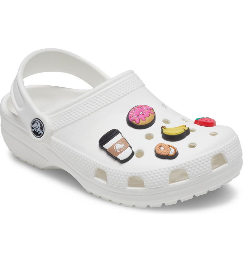 CROCS <sup>™</sup> 5-Pack Breakfast Jibbitz<sup>™</sup> Shoe Charms, Main, color, NONE