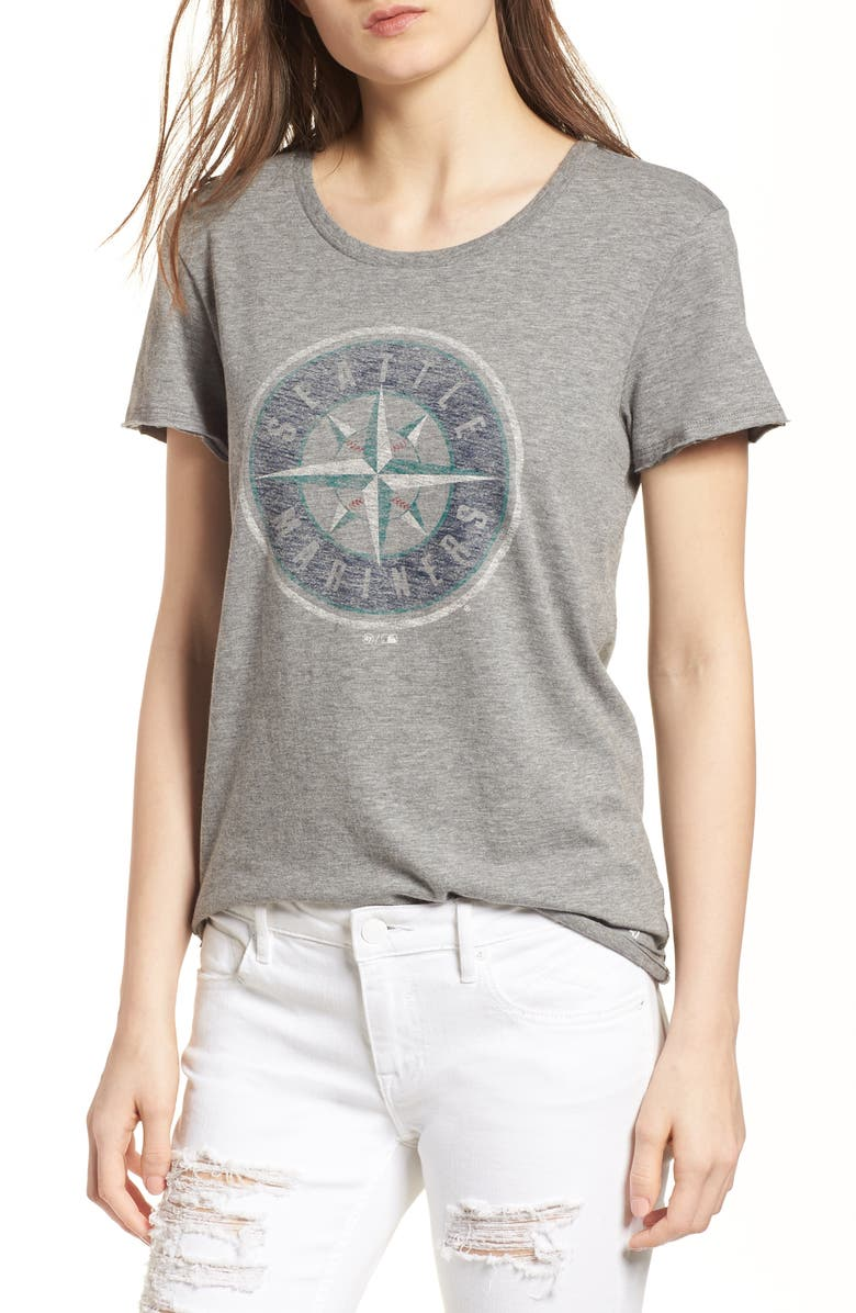 '47 Seattle Mariners Fader Letter Tee, Main, color, 021