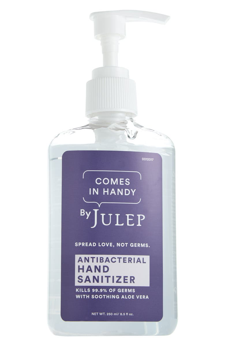 JULEP BEAUTY Julep Comes In Hand Antibacterial Hand Sanitizer, Main, color, No Color