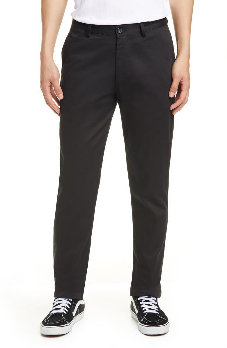 NOON GOONS Industry Lined Chinos, Main, color, 001