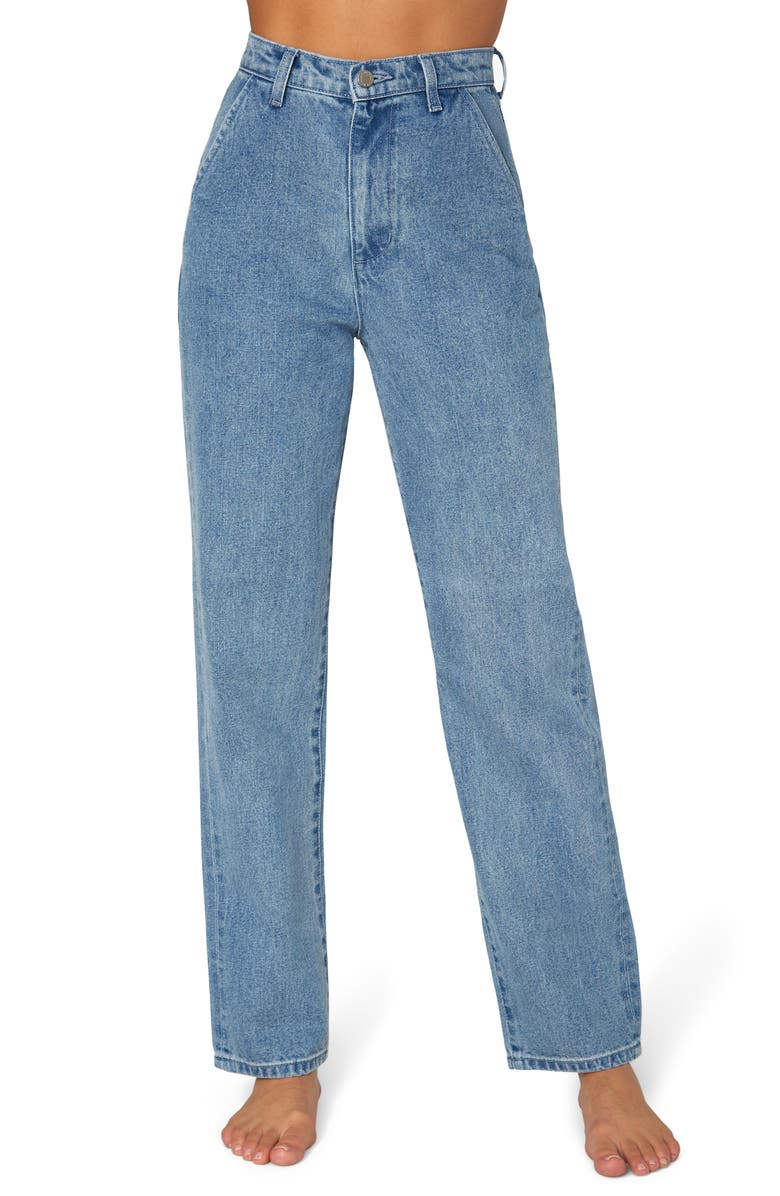 WE WORE WHAT Mom Jeans, Main, color, MOTT