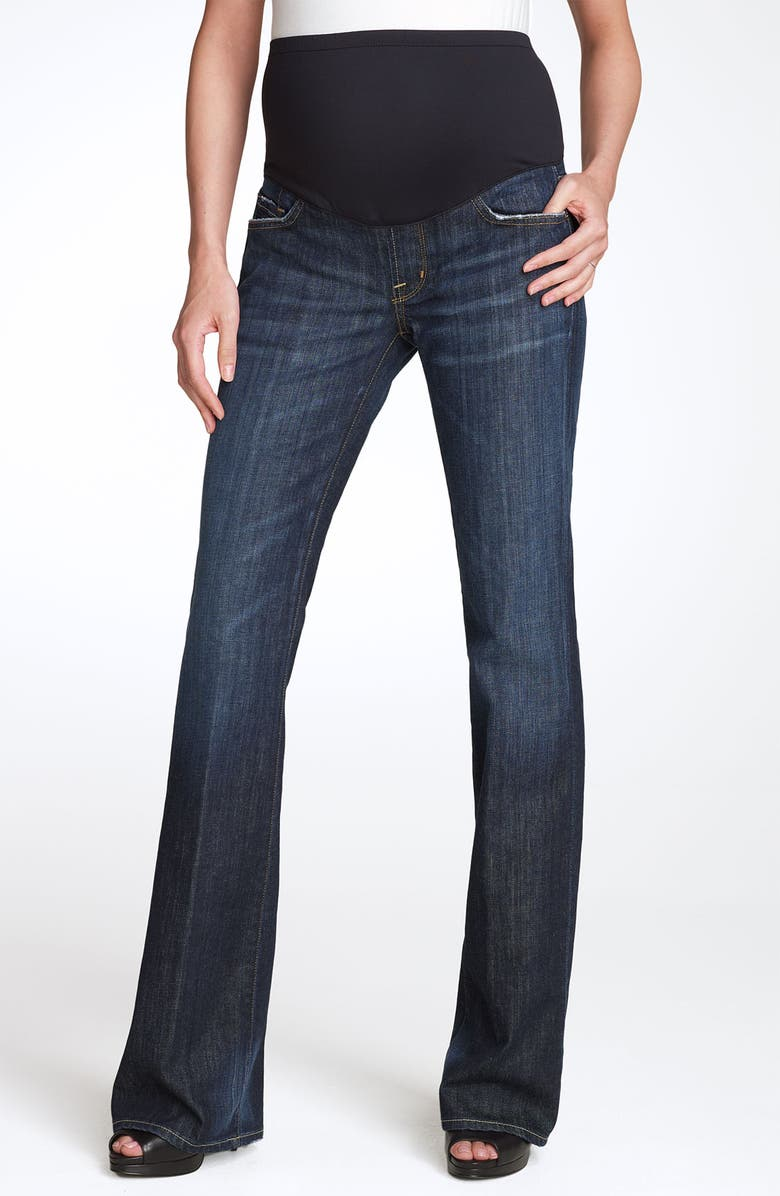 CITIZENS OF HUMANITY 'Kelly' Maternity Bootcut Stretch Jeans, Main, color, 405