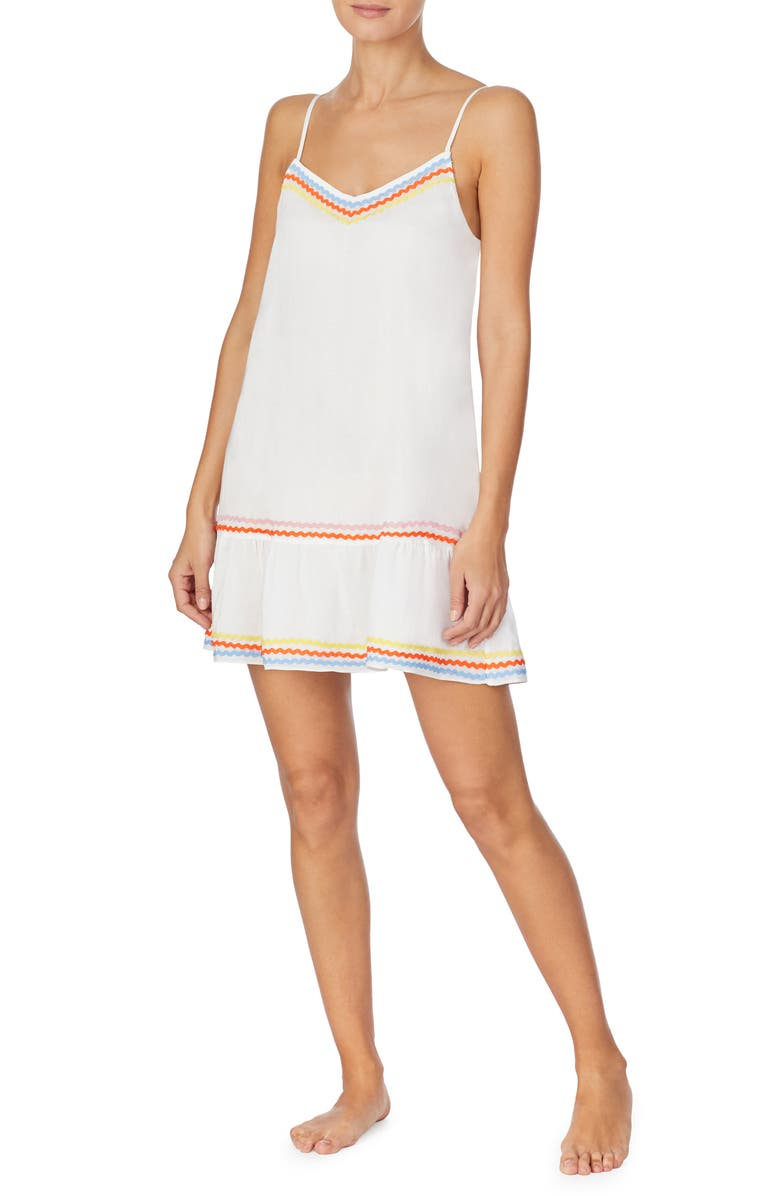 ROOM SERVICE PJS Tiered Chemise, Main, color, CAMEO