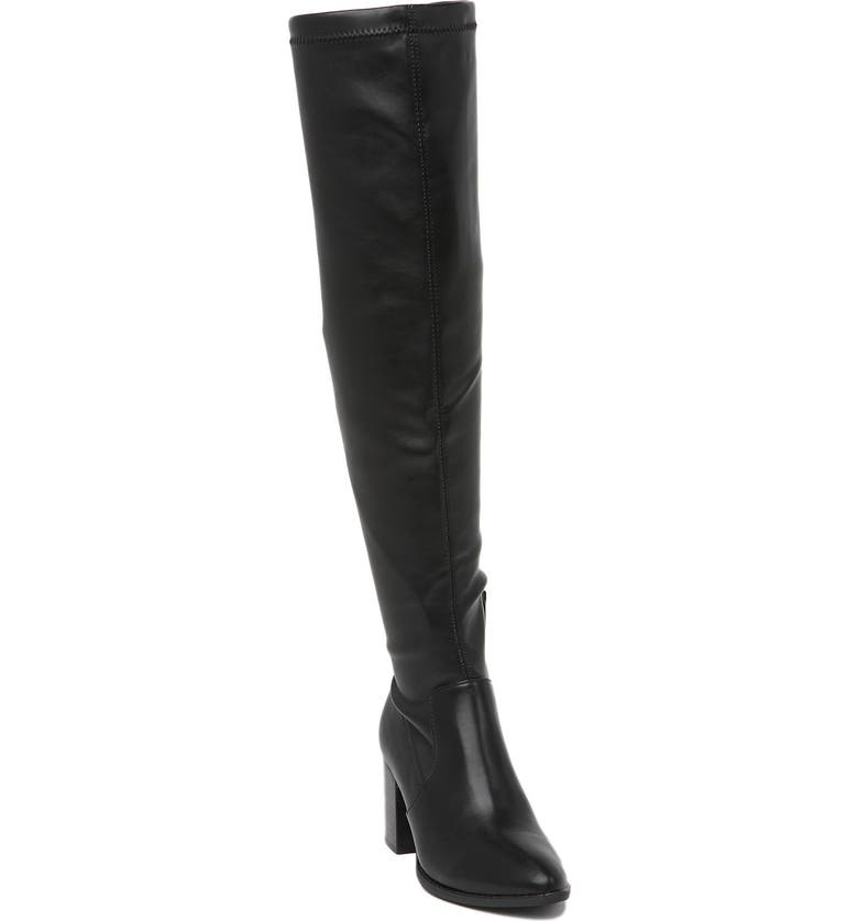 DV DOLCE VITA Trude Over-the-Knee Stretch Boot, Main, color, BLACK SMOOTH