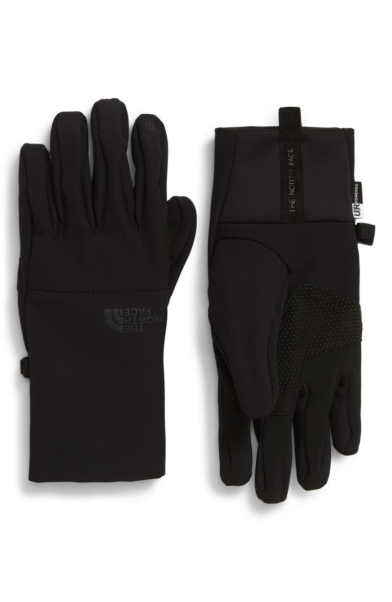 THE NORTH FACE Apex Etip Gloves, Main, color, TNF BLACK