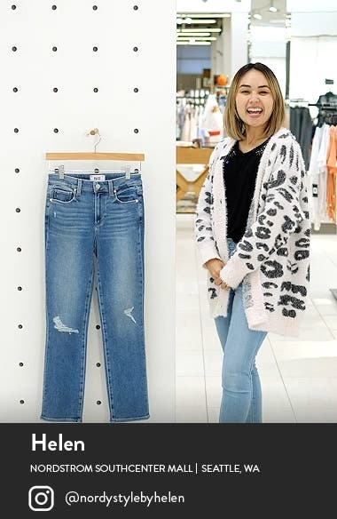 Cindy Ripped Straight Leg Jeans, sales video thumbnail