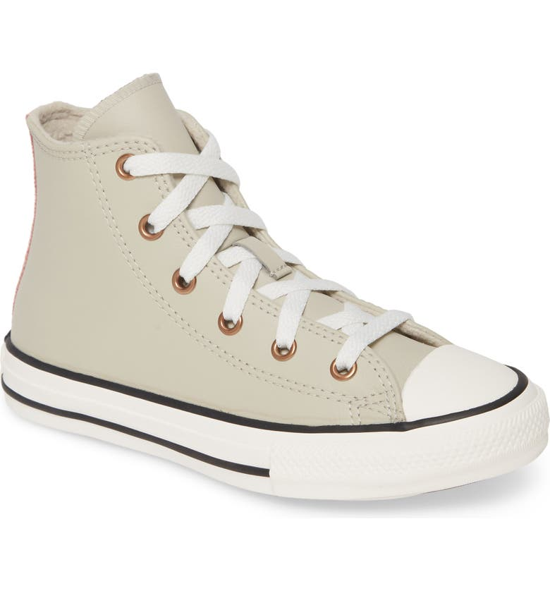 CONVERSE Chuck Taylor<sup>®</sup> All Star<sup>®</sup> Mission Leather High Top Sneaker, Main, color, 090