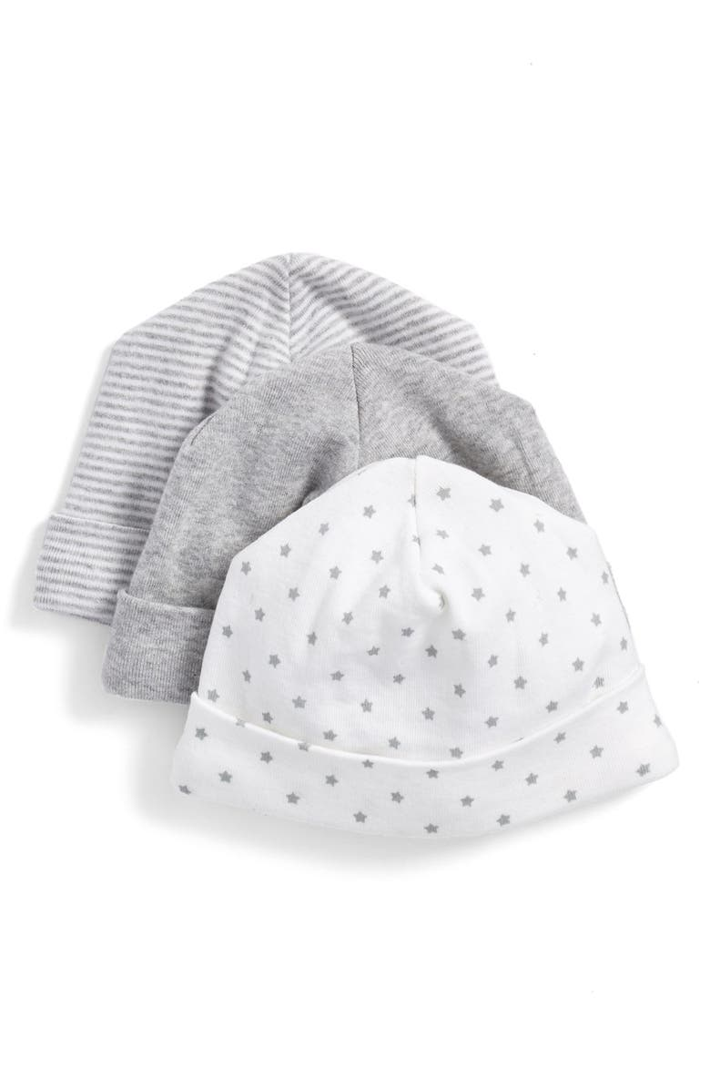 NORDSTROM BABY Cotton Hats, Main, color, 050